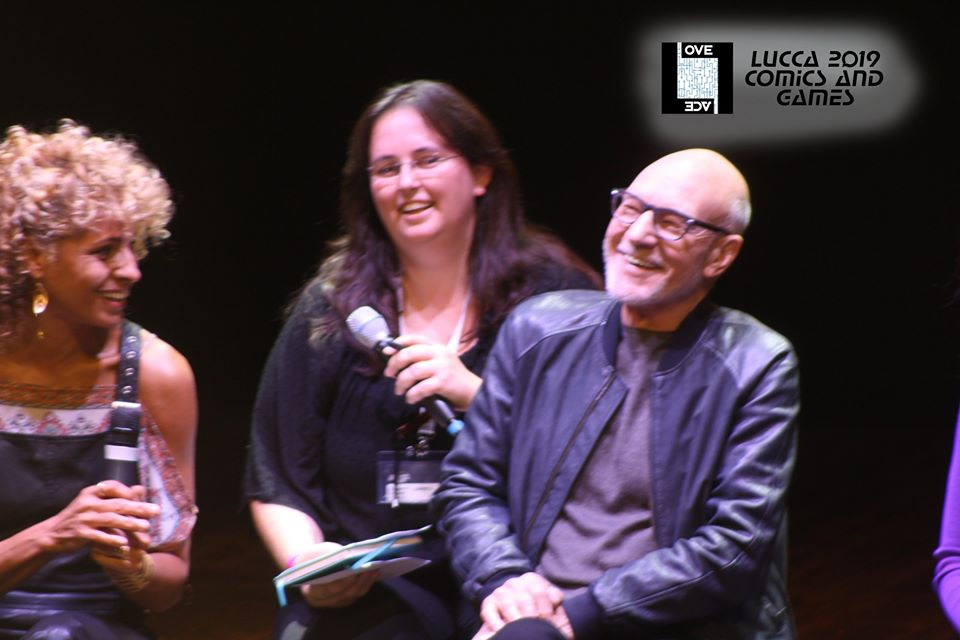Patrick Stewart a LuccaCG2019