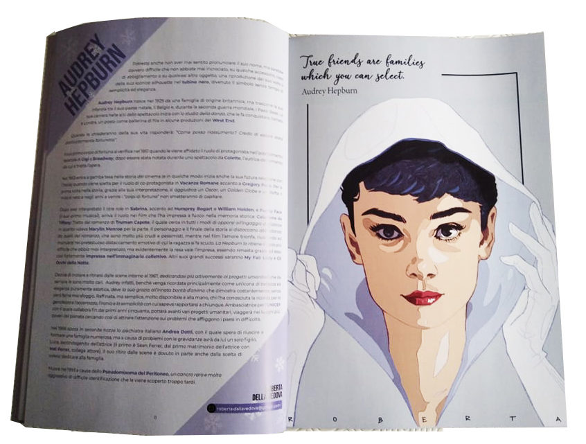 Winter Ladies: Audrey Hepburn