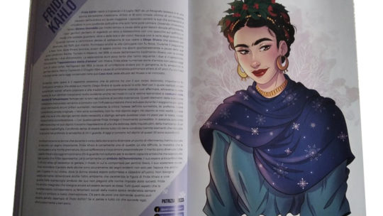 Winter Ladies: Frida Kahlo