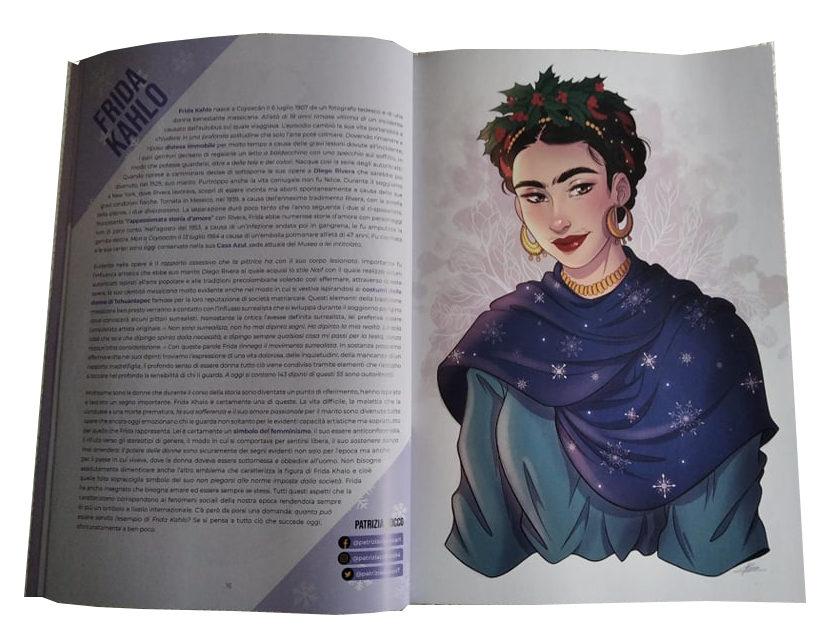 Winter Ladies: Frida Kahlo