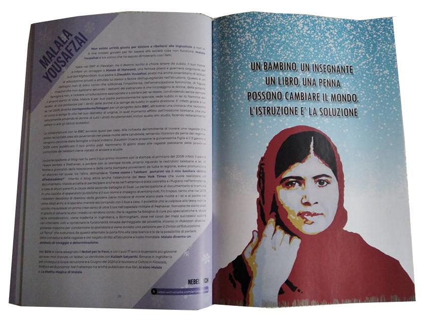 Winter Ladies: Malala Yousafzai